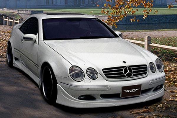 Аэродинамический обвес VITT Super Wide Version для Mercedes S-class Coupe C215