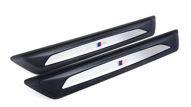Накладка порога в M-стиле (передняя) для BMW 1 Series F20/F21