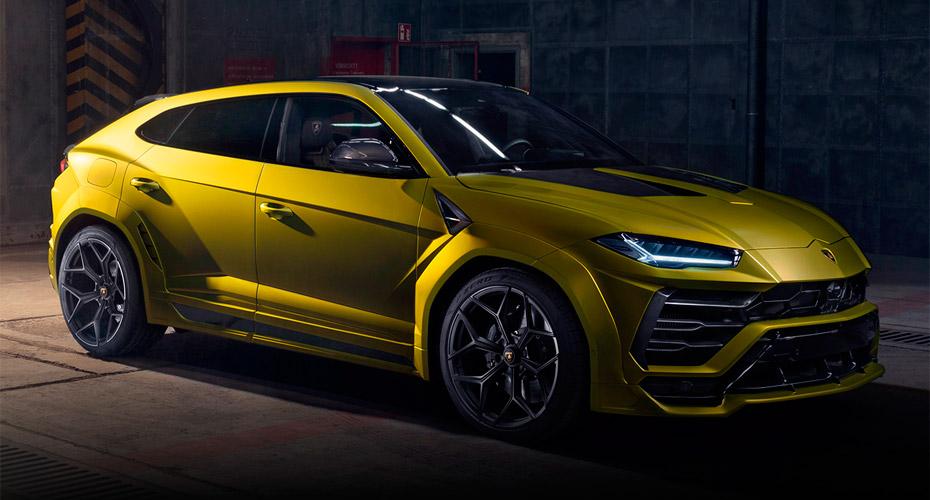 Обвес Novitec Esteso для Lamborghini Urus
