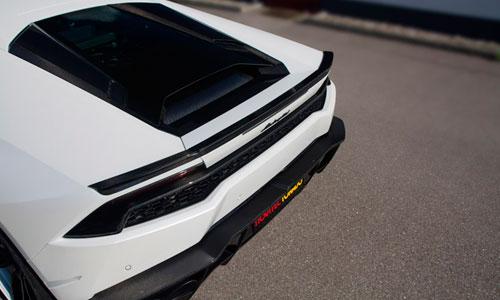 Спойлер на крышку багажника (карбон) Novitec для Lamborghini Huracan LP 610