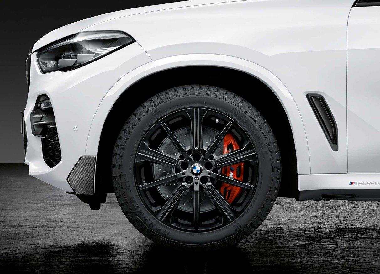 Легкосплавный колесный диск (звездообразные спицы) 748M для BMW X6 G06