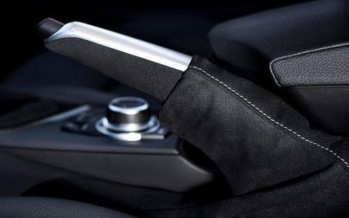 Ручка рычага стояночного тормоза М Performance (с чехлом) для BMW 1 Series E81/E87