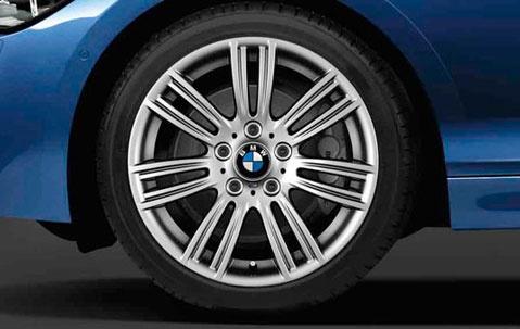 Легкосплавное дисковое колесо (звездообразные спицы) 383 для BMW 1 Series F20/F21