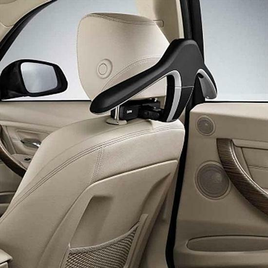 Плечики для одежды (черные) Travel & Comfort для BMW 1 Series F20/F21