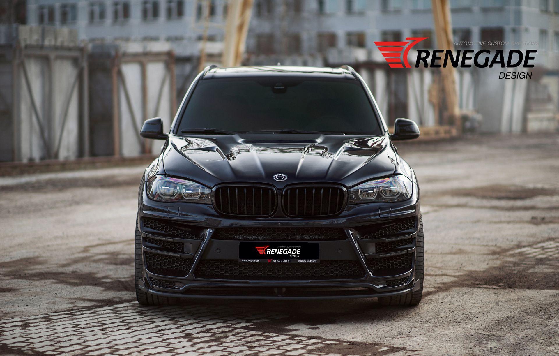 Обвес Renegade для BMW X5 F15 (F85)