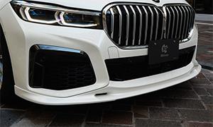 Накладка на передний бампер 3D Design для BMW 7-Series G11/G12
