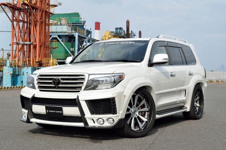 Обвес Eight Star Carbon для Land Cruiser 200