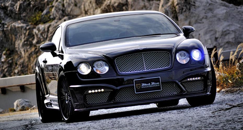 Тюнинг WALD Black Bison Edition для Bentley Continental GT