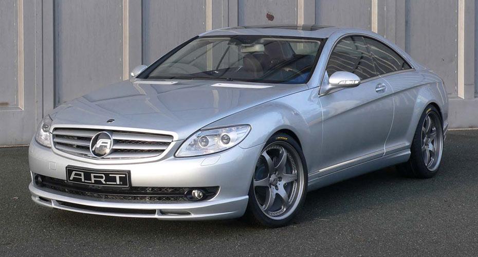 Аэродинамический обвес ART для Mercedes S-class Coupe C216