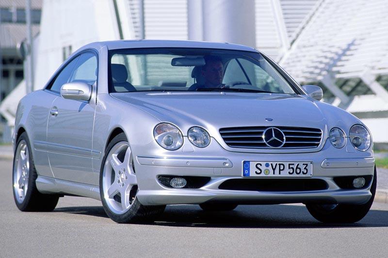 Аэродинамический обвес CL55 AMG для Mercedes S-class Coupe C215