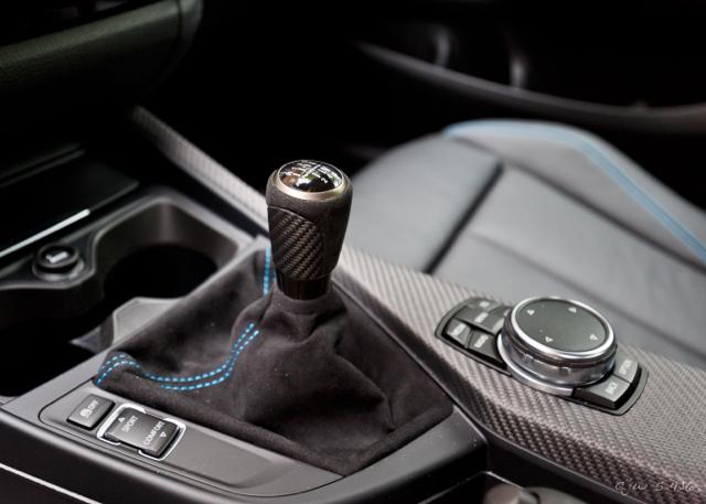 Головка рычага переключения передач Pro с кожухом (алькантара) M Performance для BMW 1 Series F20/F21