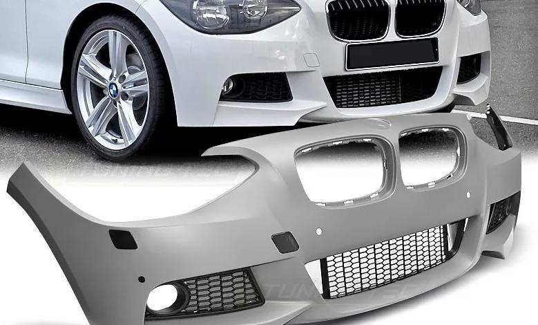 Передний бампер M-Sport (рестайлинг) для BMW 1 Series F20