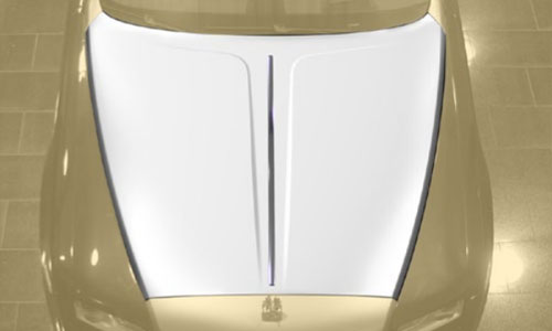 Капот Mansory для Rolls-Royce Wraith
