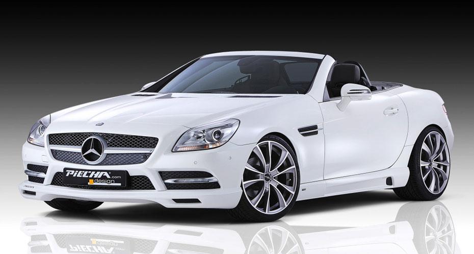 Аэродинамический обвес Piecha Design для Mercedes SLK-class R172