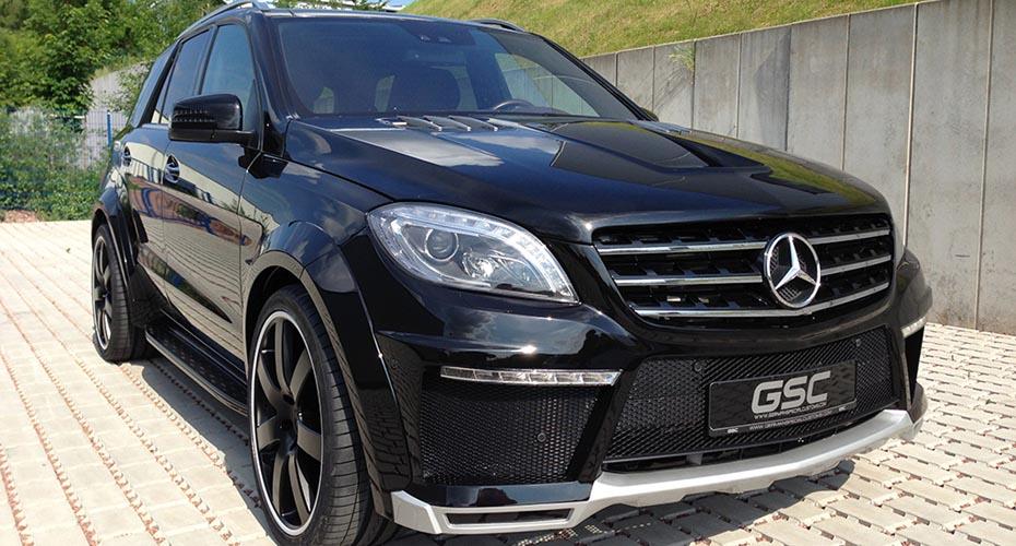 Аэродинамический обвес GSC для Mercedes ML-class W166