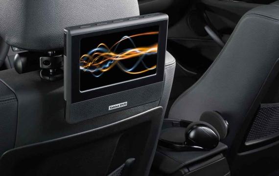 Монитор в задней части салона DVD Tablet для BMW 1 Series E81/E87