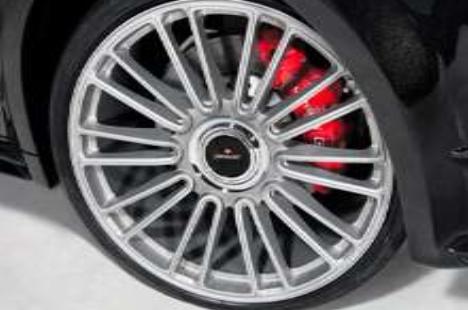 Легкосплавный колесный диск CS.10 R21 Silver Mansory для Porsche Panamera 970