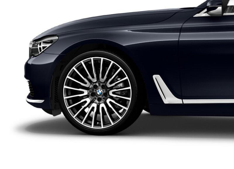 Легкосплавный колесный диск (V-образные спицы) 629 для BMW 7 Series G11/G12 LCI