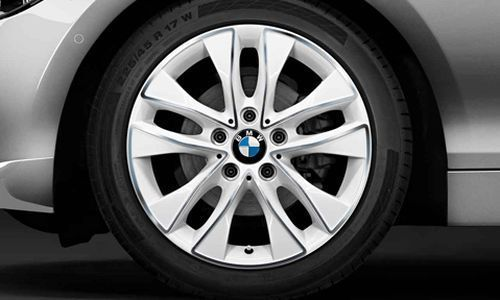 Легкосплавный колесный диск (V-образные спицы) 412 для BMW 1 Series F20/F21