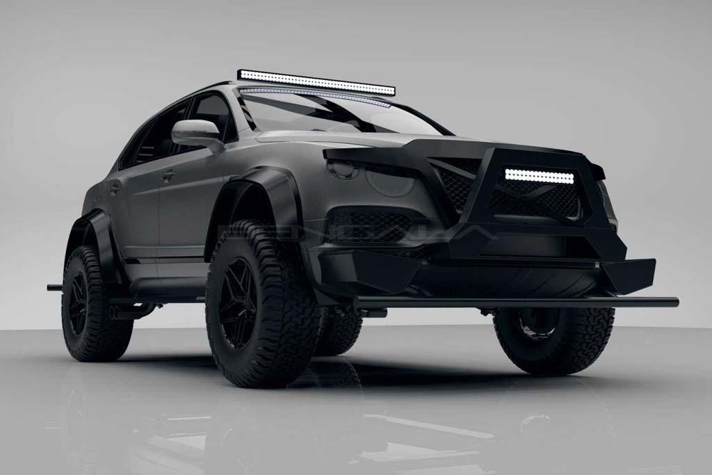 Bentley Bentayga - брутальный внедорожник?