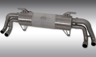 Выхлопная система (без регулировки уровня звука) Novitec для Lamborghini Huracan LP 570