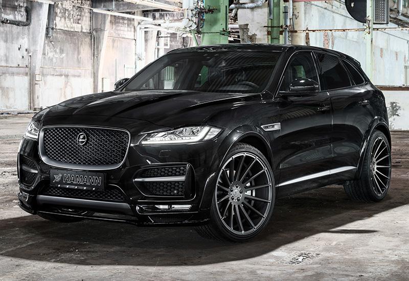 Обвес Hamann S Widebody для Jaguar F-Pace