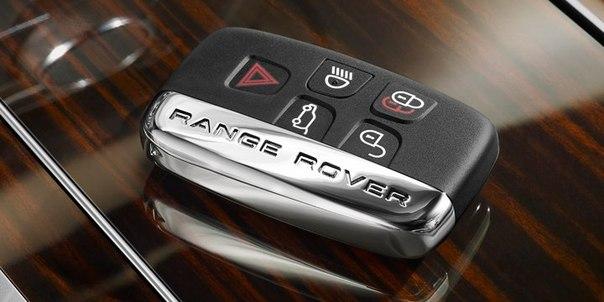 Хромированная отделка корпуса ключа для Range Rover Evoque
