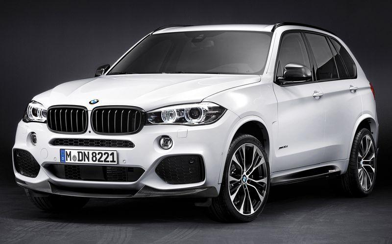 Аэродинамические принадлежности M Performance для BMW X5 F15