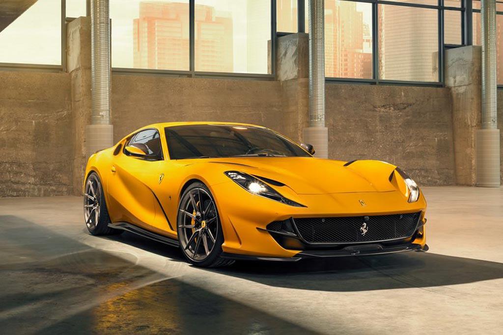 Ferrari 812 Superfast от специалистов Novitec