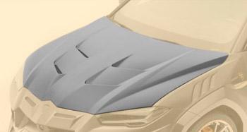 Капот (карбон) Mansory для Lamborghini Urus