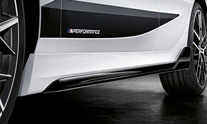 Накладки на пороги M Performance для BMW 1 Series F40