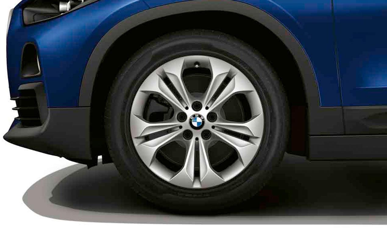 Легкосплавный колесный диск (сдвоенные спицы) 564 для BMW X1 F49