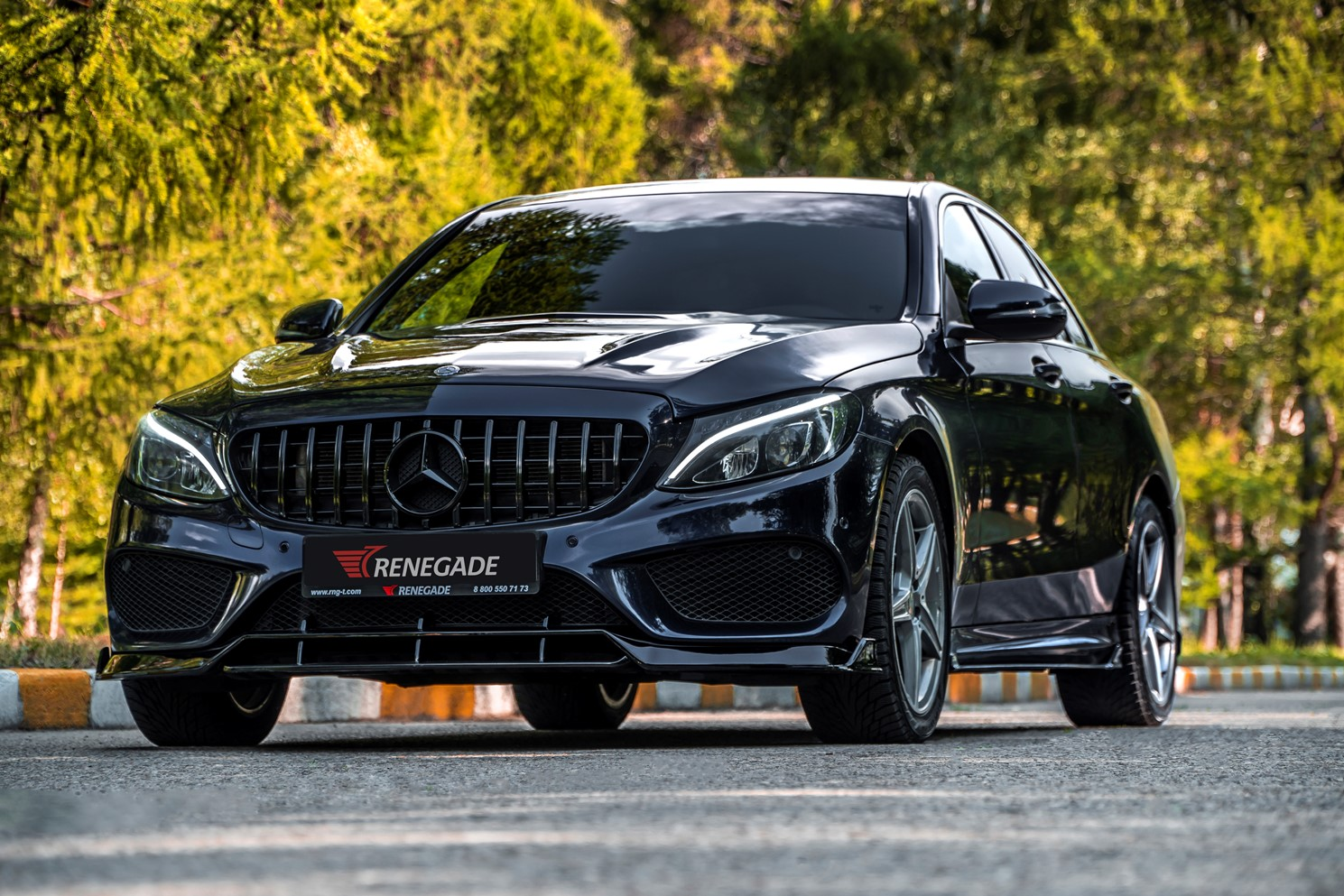Обвес Renegade для Mercedes C-class W205