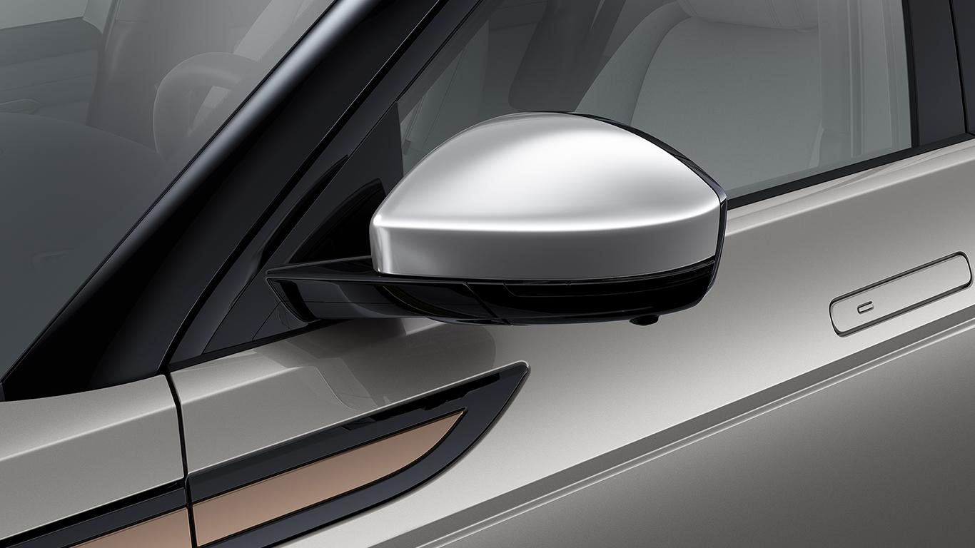 Набор крышек на корпус зеркала (Noble Chrome) для Range Rover Evoque