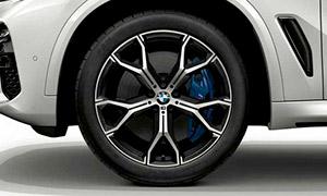 Колесный диск 741M (Y-образные спицы) R21 M Performance для BMW X6 G06