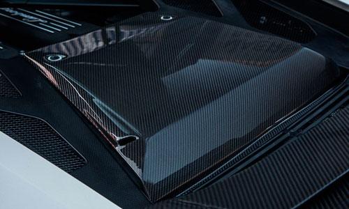 Накладка моторного отсека (карбон) Novitec для Lamborghini Huracan LP 570