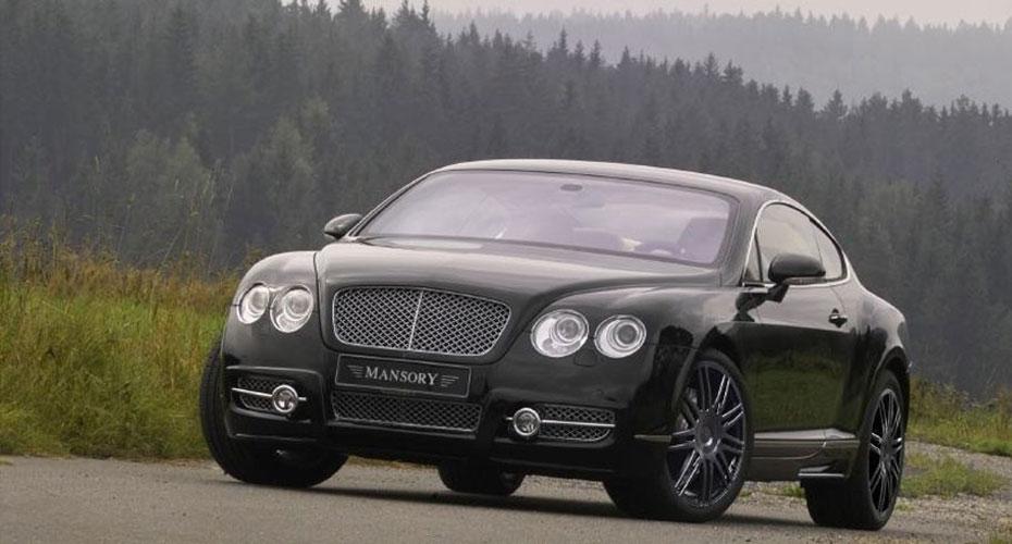 Тюнинг Mansory для Bentley Continental GT