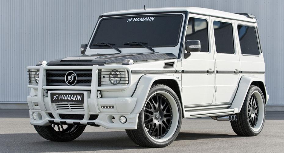 Обвес Hamann для Mercedes G-class W463