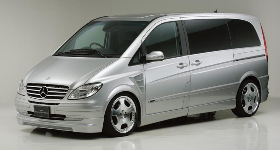 Аэродинамический обвес WALD Executive Line для Mercedes Viano W639