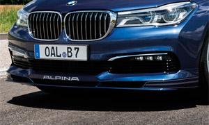 Спойлер переднего бампера Alpina для BMW 7-Series G11/G12