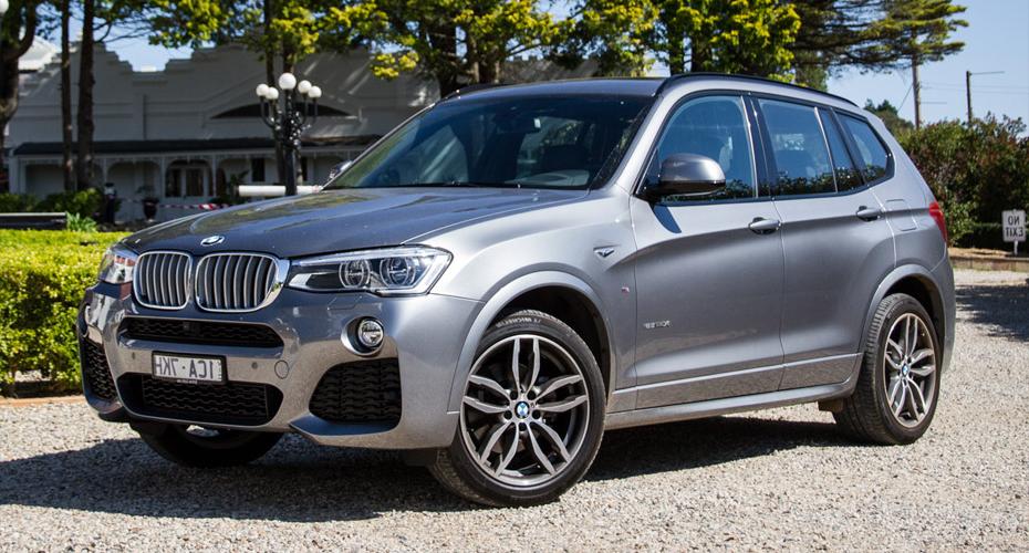 Обвес M Sport (рестайлинг) для BMW X3 F25
