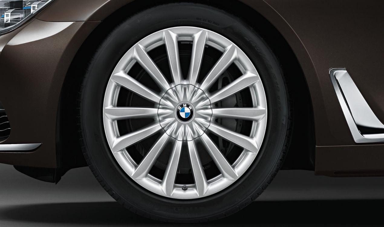 Легкосплавное дисковое колесо (V-образные спицы) 620 для BMW 7 Series G11/G12 LCI