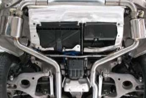 Спортивный выхлоп Mansory для Porsche Panamera 970