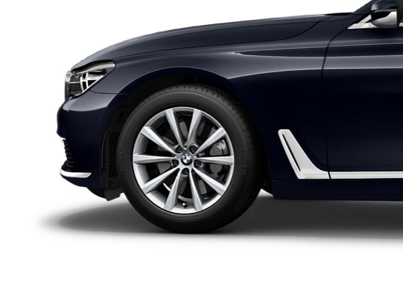 Легкосплавное дисковое колесо (V-образные спицы) 642 для BMW 7 Series G11/G12 LCI