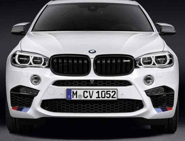 Аэродинамические принадлежности M Performance для BMW X6 F86