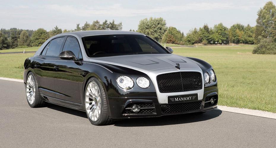 Тюнинг Mansory для Bentley Flying Spur II