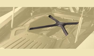 Накладка на распорку (карбон) Mansory для Lamborghini Huracan