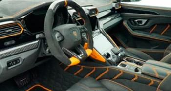 Карбоновые элементы в салон Mansory для Lamborghini Urus