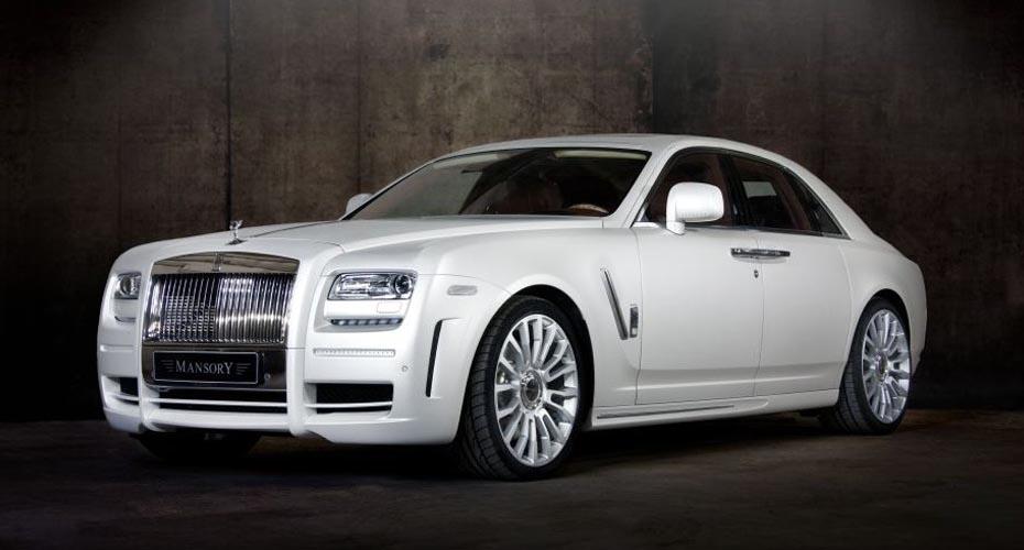 Обвес Mansory для Rolls-Royce Ghost