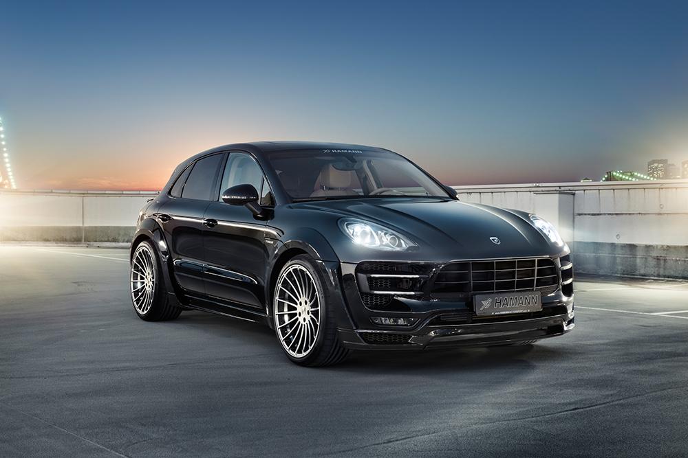Обвес Hamann Widebody для Porsche Macan S & S Diesel